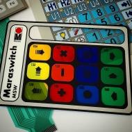 Трафаретна фарба для мембранних клавіатур з полікарбонату  Maraswitch MSW